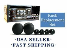 Truck SUV Delco Radio Knobs Kit Sets AM FM CD CS Pieces Fits 1995-2005 Chevy GM