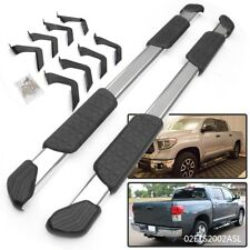 """For 07-18 Toyota Tundra CrewMax Pair 5"""" Side Step Running Boards Nerf Bar"""