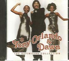 Tony orlando & Dawn Definitive Collection(CD ) free shipping