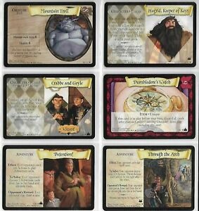 Harry Potter : (G)(Various Cards)(You get all 6)