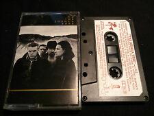 U2 the Joshua Tree Rare Festival Label New Zealand Mc Tape