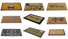 Paillassons, tapis de sol marrons en caoutchouc pour la cuisine