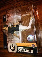 Mark Mulder! Mcfarlane MLB Series 10! Oakland Athletics green jersey!