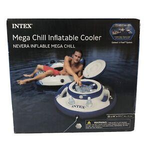 """Intex Mega Chill Inflatable Cooler NIB 33"""" X33"""" X 11.5"""""""