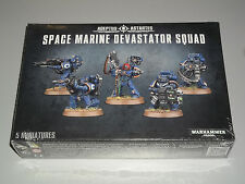 Warhammer 40K SPACE MARINE DEVASTATOR SQUAD Box Set!! Brand New+Sealed!!