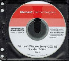 Microsoft Windows Server 2003 R2 Standard Edition (32 bit)