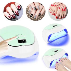 120W Lichthärtungsgerät UV Lampe Nagel 36pcs LED Licht Härtungsgerät Gel Nail