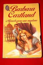 MIRACLE POUR UNE MADONE-BARBARA CARTLAND 1986