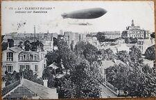 Airship/Dirigible 'Clement-Bayard' 1909 French Aviation Postcard - 'Asnieres'