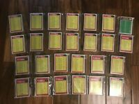 1976 Topps Football COMPLETE TEAM set  unmarked checklists choose team SET BREAK