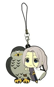 The Heroic Legend of Arslan PVC Strap Keychain Charm ~ Arslan & Azrael HLA01