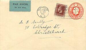 """AU$ NEW ZEALAND 1930, superb Experimental First Flight """"Dunedin - Christchurch"""""""
