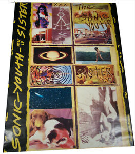 SONIC YOUTH - Sister 1987 HUGE POSTER