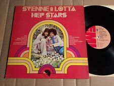SVENNE & LOTTA med HEP STARS 1966 - 1968 - LP - SWEDEN