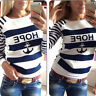 Damen Langarm Pullover Sweats Longsleeve Shirt Sweater Shirts Oberteil TOP BC161