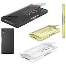 Genuine Sony EXPERIA X CLEAR VIEW FLIP CASE Mobile original cell phone cover