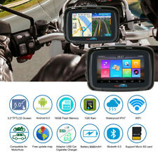 "5"" Android 6.0 GPS Navigation Bluetooth Truck Car Sat Nav Free Map Touch Screen"