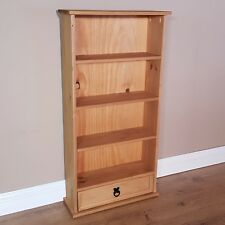 Corona DVD Rack 1 Drawer 4 Shelf Small Bookshelf Storage by Mercers Furniture
