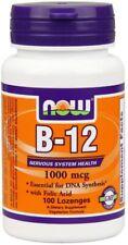 NOW Foods Vitamin B-12 - 1000mcg - 100 lozenges