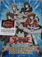 YuGiOh DUELIST PACK COLLECTION TIN (6-packs) Chazz Aster Zane Truesdale