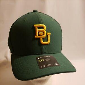 Nike Baylor University Bears Green Dri Fit Classic 99 Hat OSFM College Unisex