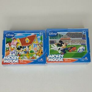 Mickey Mouse Mini Jigsaw Puzzles, Set of 2, BRANDNEW! SEALED! FREE SHIPPING!