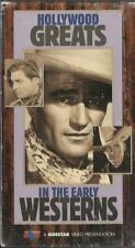 Hollywood Greats in the Early Westerns 2 VHS Set 10 Classics NOS Sealed