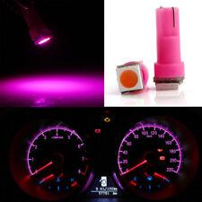 50Pcs Pink T5 58 73 74 1SMD 5050 LED Instrument Gauge Dash LED Bulbs light 12V