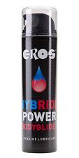 "EROS HybridPOWER BodyGlide ""Silikon/Wasser"" Rubber&Gummi ErotikFun(100ml=9,33€)"