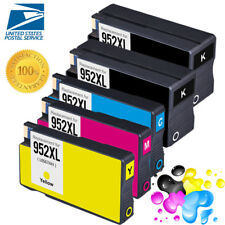 5 Pack Ink Cartridges for HP 952XL 952 XL Officejet Pro 8218 8700 8710 8715