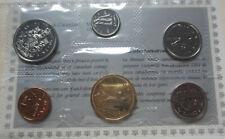 1992 Canada PL RCM Set (6 Coins UNC.)