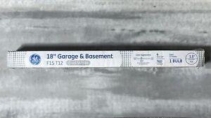 "GE 18"" GARAGE & BASEMENT F15 T12 Cool White 15W FLUORESCENT Light Bulb 4100 K"