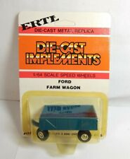 ERTL DIECAST IMPLEMENTS FORD FARM WAGON - BLUE - #1774 - SEALED BLISTER PACK