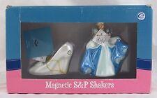 Disney Cinderella and Glass Slipper Magnetic Salt & Pepper Shakers, Westland