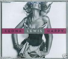 LEONA LEWIS - HAPPY / LET IT RAIN 2009 CD SINGLE