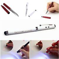 Spirius 4in1 Laser Pointer Pen Light Beam 1mW Lazer cat toy stylus+Ballpoint pen