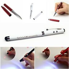 Spirius 4in1 Laser Pointer Pen Light Beam 1mW Lazer cat toy stylus+Ballpoint pen