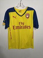 Arsenal Jersey 2014 2015 Away S Shirt Mens Football Soccer Trikot Puma ig93