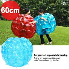 2 Stück Bubble Soccer 60cm Zorb Ball Bumper Fußball Zorbing Kugel Knockerball A+