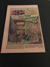 BATMAN #76 GOLDEN AGE PENGUIN APPEARANCE KEY COVERLESS BUT COMPLETE