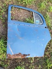 Jaguar 1955-59 2.4, 3.4 Saloon LH Rear  MKI Door Assembly with Glass , Vent