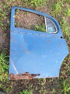 Jaguar 1955-59 2.4, 3.4 Saloon LH Rear  MKI Door Assembly & Glass Vent OR Parts