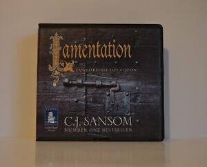 C.J. Sansom: Lamentation - Unabridged Audio Book - 20CDs