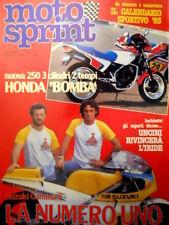 Motosprint 5 1983 Inserto Calendario Sportivo 83. Uncini rivincerà l'iride [Q83]