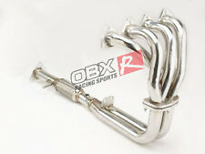 OBX Stainless Exhaust Header FITS 93 94 95 96 Prelude 2.2L VTEC Coupe 2DRS H22A