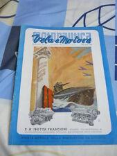 MOTONAUTICA VELA E MOTORE N.11 NOVEMBRE 1941
