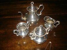 Antique Toronto S.P. Company Silverplate Tea Set 1900-1940