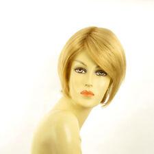 Perruque femme courte blond clair doré FRANE LG26