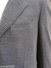 Ermenegildo Zegna Jacket Houndstooth Sports Coat Blazer Jacket Size 44