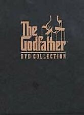 The Godfather DVD Collection DVD 2001 5-Disc Set I, II, III plus Bonus Materials